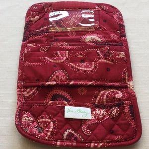 Vera Bradley Mesa Red Clutch/Wallet